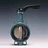 Wafer Type Butterfly Valve with Hand Lever